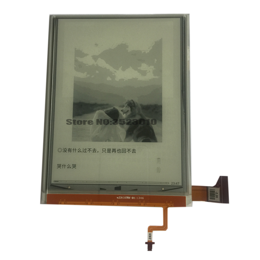 US $31 99 |Original NEW 6 8 inch e ink lcd screen ED068TG1 for KOBO Aura HD  or Kobo H2O ebook Reader Display, Don't include TOUCH module-in Tablet