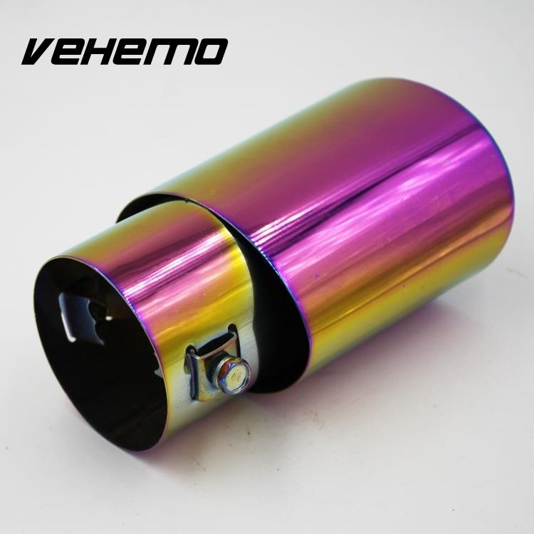 Vehemo Vehemo font b Automobile b font Car Modification Grilled Tail Rear Straight font b Exhaust