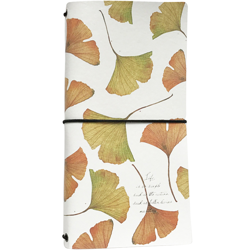 Fashion Diary Craft Paper Notepad Creative Lunchbook Notebook Stationery Handbook Notepad Tie Diary Retro Travel Book