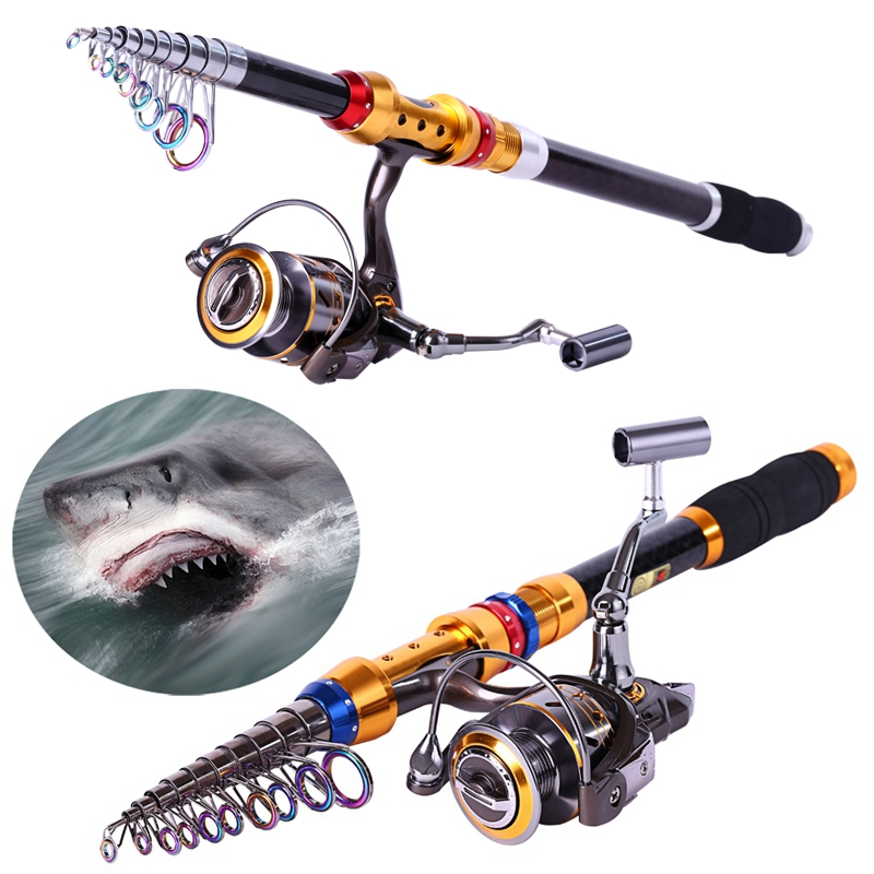 Sougayilang Fishing Rod and 12+1BB Reel Set Bass and Hard Fishing Rod of 99% Carbon Materials <