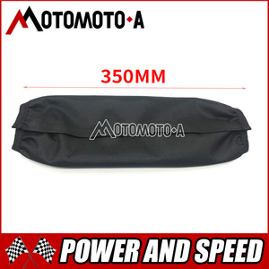 Image 5 - 26Cm 34Cm Motorfiets Achter Vork Schokdemper Cover Protector Guard Suspension Cover Wrap Set Voor Dirt Bike Pit pro