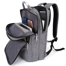 2016 New Tigernu Mens Backpacks Bolsa Mochila for Laptop 14 Inch Notebook Computer Bags Men Backpack School Rucksack Prepp Grey