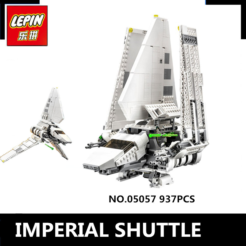 IN STOCK  New LEPIN 05057 Star War Series Imperial Shuttle Tydirium Building Blocks Bricks Assembled Toys Compatible with 75094 lepin 22001 pirate ship imperial warships model building block briks toys gift 1717pcs compatible legoed 10210
