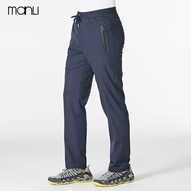 MANLI Summer Men Quick Dry Outdoor Pants Removable Hiking&Camping Pants Male Breathable Hunting&Climbing Pants L-XXXL