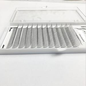 Image 4 - 1box große kapazität Russische Volumen Wimpern 3D Wimpern Extensions 0,07mm Dicke C D wellung Nerz Streifen Wimpern Individuelle wimpern