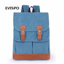 Винтаж Кожа военная Холст рюкзак мужской рюкзак школьный мешок drawstring рюкзак 2016 bagpack рюкзак ван mochila эсколар