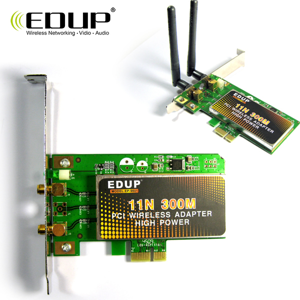 Edup 11n pci-e 300m wireless desktop built-in network card wifi