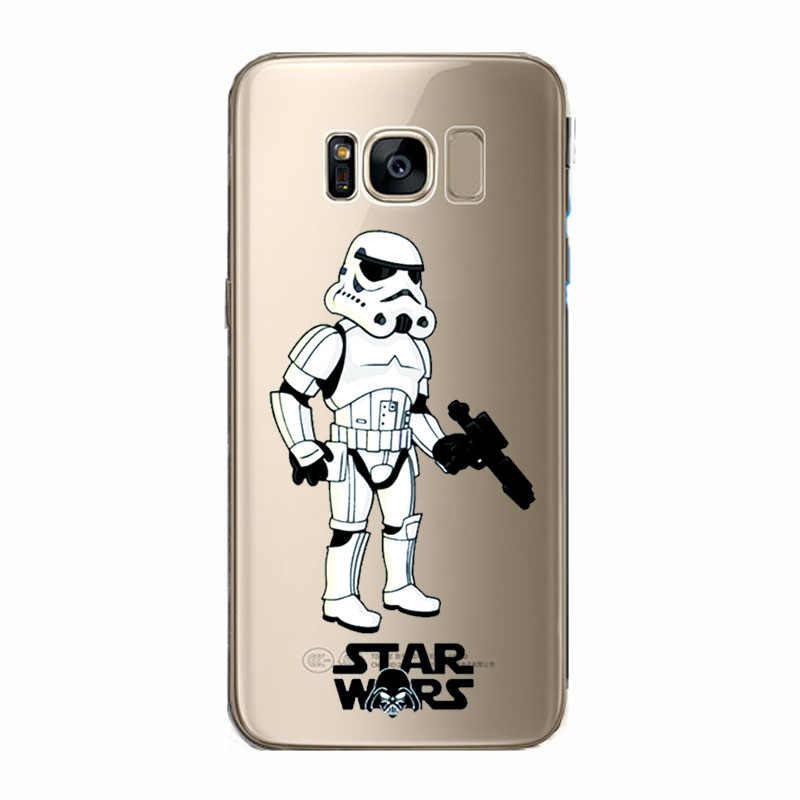 Darth Vader de Star Wars R2D2 BB8 Café Telefone Macio Capinha Capa para samsung s8 S9 S10plus Note9 10 S10 lite