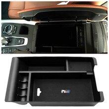 Для BMW x5 f15 для bmw x6 f16 Автомобиль Центральной Консоли Подлокотник ящик для хранения подлокотник Контейнер Организатор лоток аксессуары для интерьера