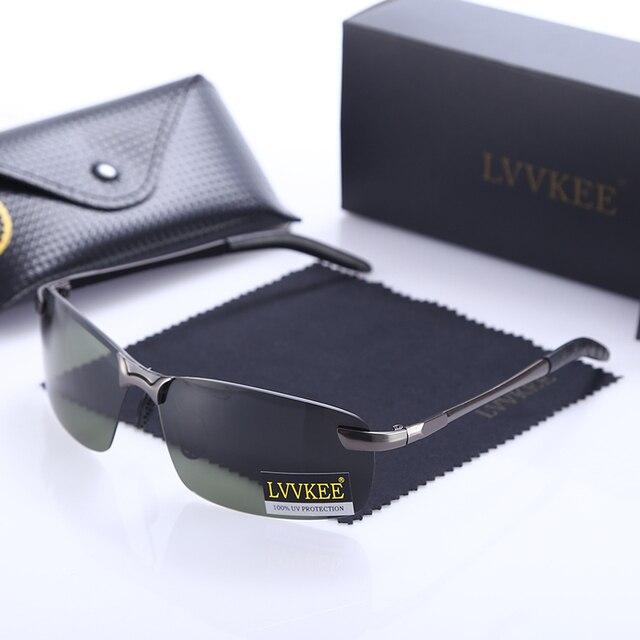 Lvvkee marca golfe polarizada homens óculos de sol masculino óculos de  visão noturna polarizador de condução ae8da99cd7