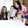 Tablet holde rock 360 grados brazo flexible mesa soporte de la almohadilla de soporte 70 cm de largo la gente perezosa cama escritorio montaje de la tableta para ipad mini