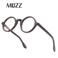 MUZZ Fashionable Brands optical glasses frame circular eyeglasses Man and Women reading glasses eyewear frames 2018 Fashion glas