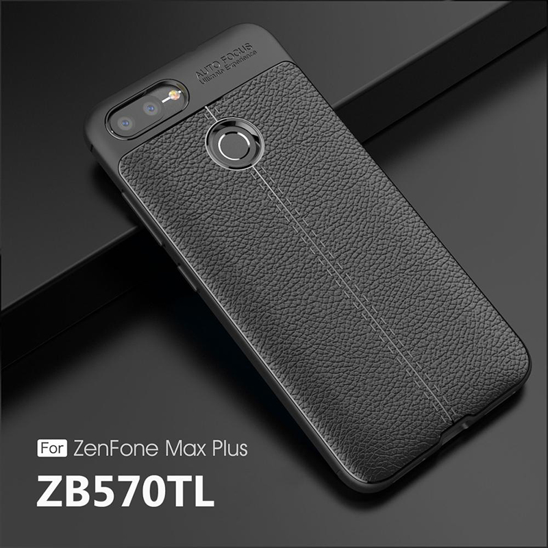 Luxury Soft TPU Case For Asus Zenfone max plus m1 ZB570TL Phone Back cover Leather For Zenfone Max Plus M1 ZB 570TL Case 5.7inch