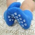 Del Color del caramelo de Algodón Calcetines de Los Niños Niñas Bebés niños Calcetines Para 1-3 Años el Deporte de Niños Calcetines Antis del Resbalón