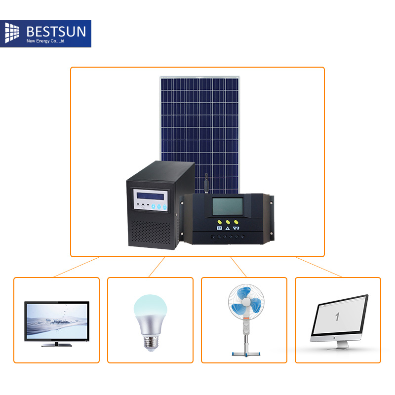 1kW 1000W Plug In DIY Solar Panel system PV Kit System Ground Mount Kit Garden/Patio on grid solar powerl system-in System from Home Improvement ...
