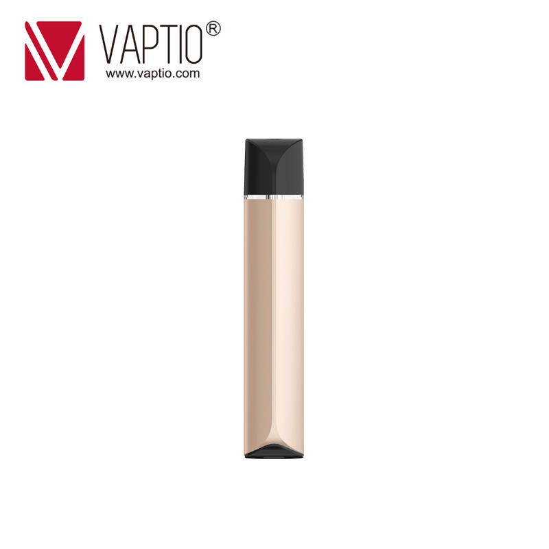 Portable POD Vaptio C-FLAT MINI KIT 260mAh E cigarette Vaporizer Pen 9W MINI Vapor kit 1.3ml Atomizer 1.5ohm Ceramic pod coil