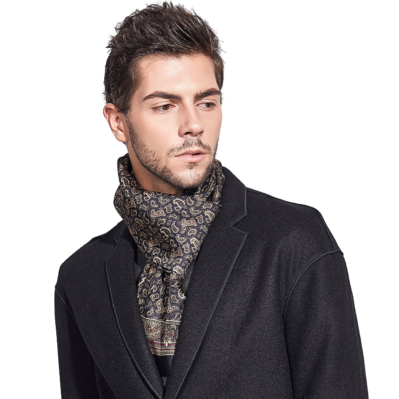 Cheap silk scarves Foulards De Fourrure Pure Silk Scarf