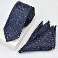 Polka Dot Striped Mens Vintage Necktie And Handkerchief Wedding Party Elegant Neckwear For Men Print Male Accessories
