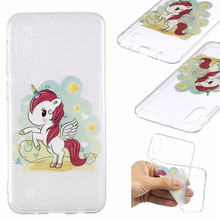 Panda Case Voor Samsung Galaxy M10 M20 M30 Gevallen A10 A20 A50 A70 Cover Ultra dunne soft TPU Silicon Cartoon Coque