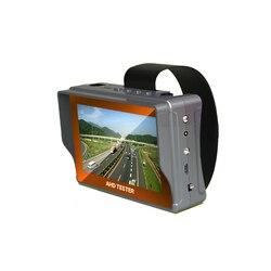 حار بيع 4.3 بوصة ثلاثة في واحد HD AHD تستر CCTV مراقبة فاحص العهد 1080 وعاء CVBS الكاميرات التناظرية اختبار PTZ UTP كابل