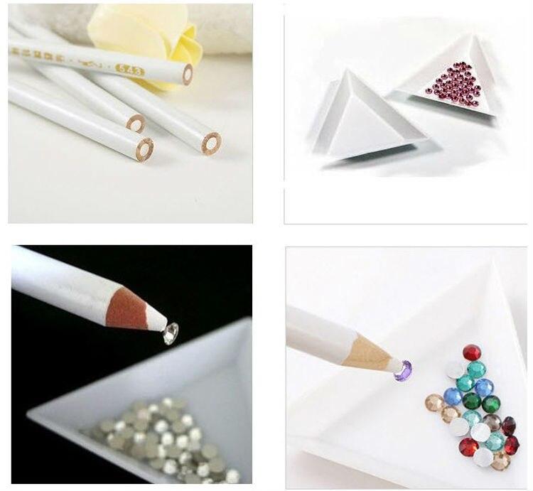 Dotting Tools The Pen Wax Crystal Picking Pencil for Rhinestones Nailart Tools for Manicure Manicura Rhinestone Picker