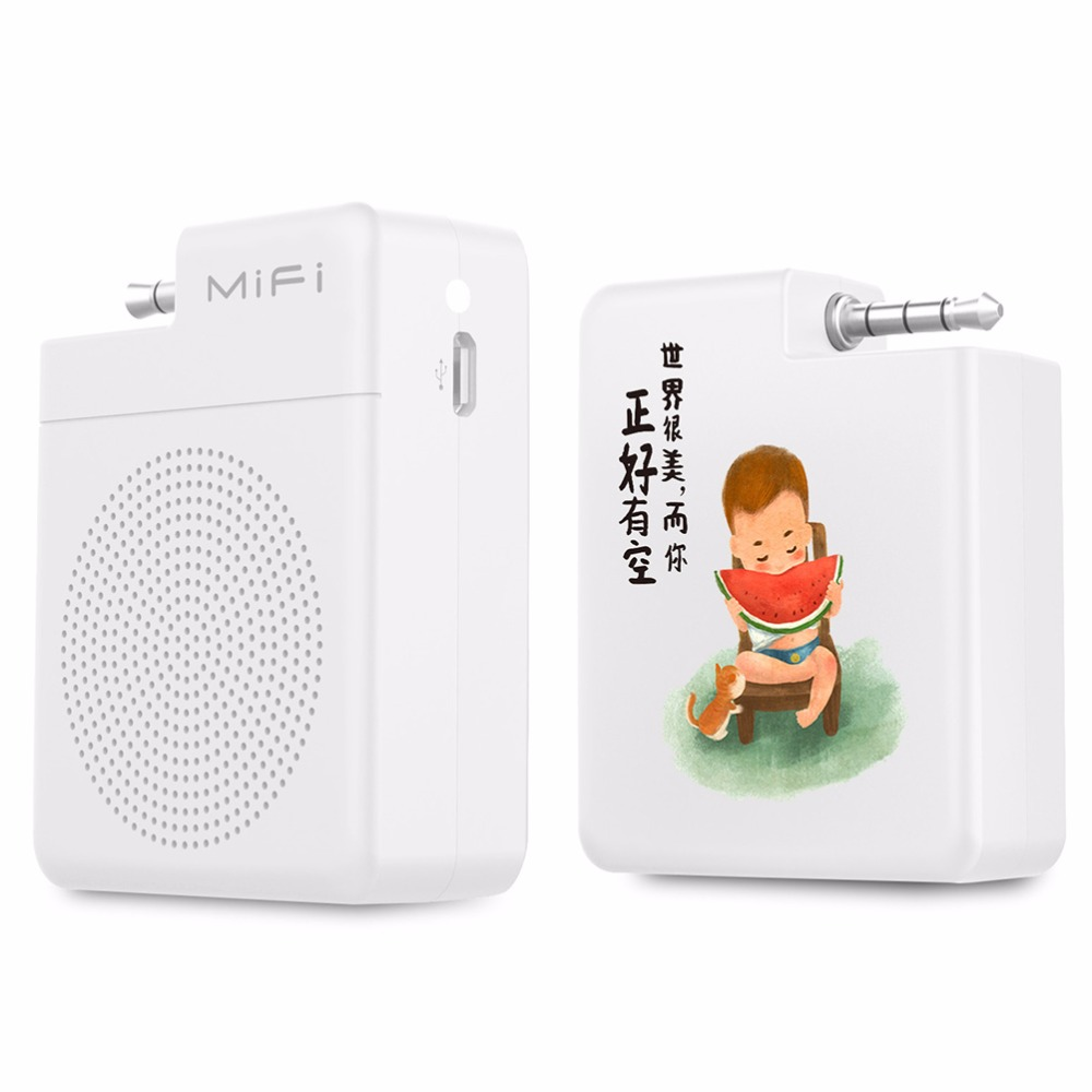 Mifa s1 Portable speaker 3.5mm Audio Plug Mobile Phone Speaker Hands-Free Stereo Mini  speaker for smart phone