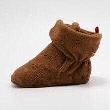 MACAMP u012018 зимние для маленьких мальчиков и девочек обувь русской зимы младенцев теплая обувь из искусственного меха для маленьких девочек пинетки кожаные мальчик детские сапоги