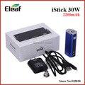 Оригинальный Eleaf iStick 30 Вт 2200 мАч емкость VV / VW мод аккумулятор нержавеющей стали резьба iStick 30 Вт для мело атомайзер в наличии