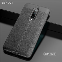 For Oneplus 7 Pro Case Soft TPU Silicone PU Leather Anti-knock Phone Cover 1+7 BSNOVT
