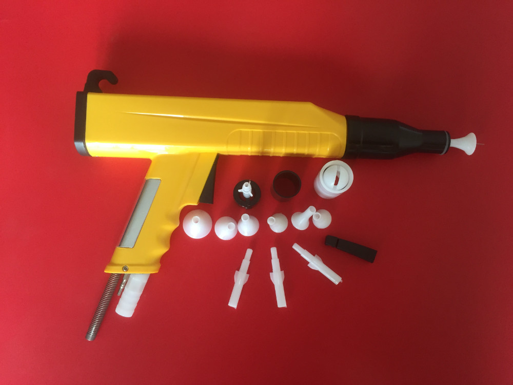 KCI 2012 electrostatic powder coating spray gunshell+nozzle electrostatic powder coating machine powder injector pump insert sleeve