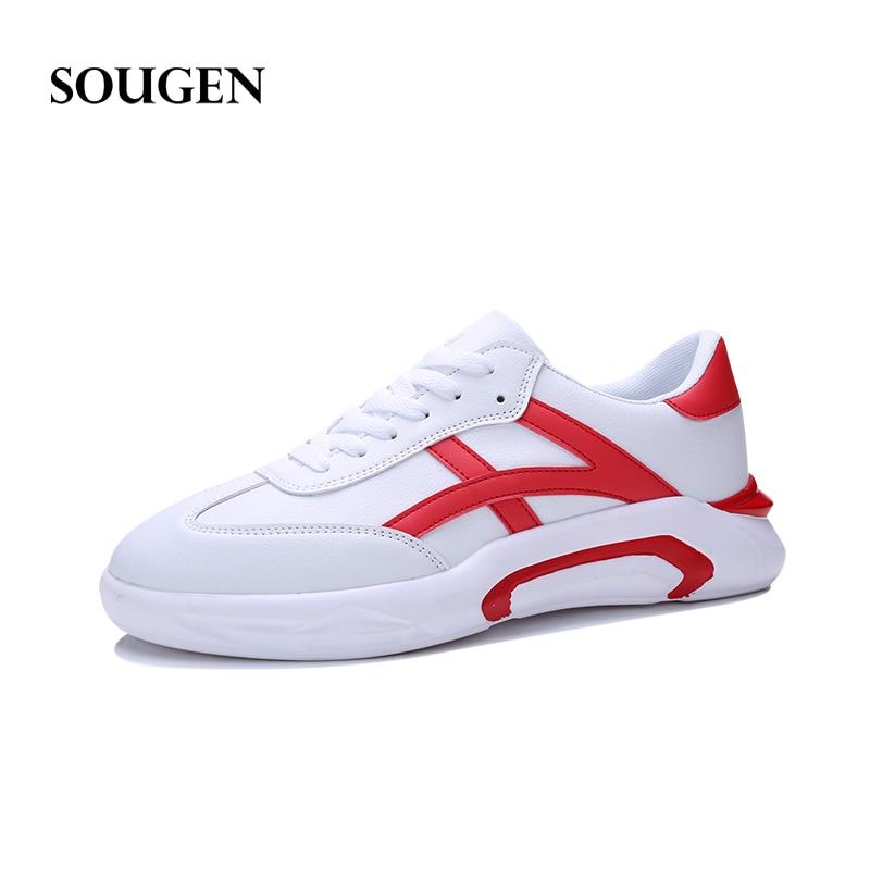 Toile red Chaussures Black Gumshoes Plate 2018 Hommes Blanc forme Sneakers Professionnel Race Air Humaine Doux Mâle white Mocassins Adulte Superstar BOxTw6qU