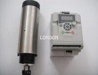 CNC spindle kit ER20 2.2KW air cooling spindle + 1 pieces 2.2KW VFD inverter
