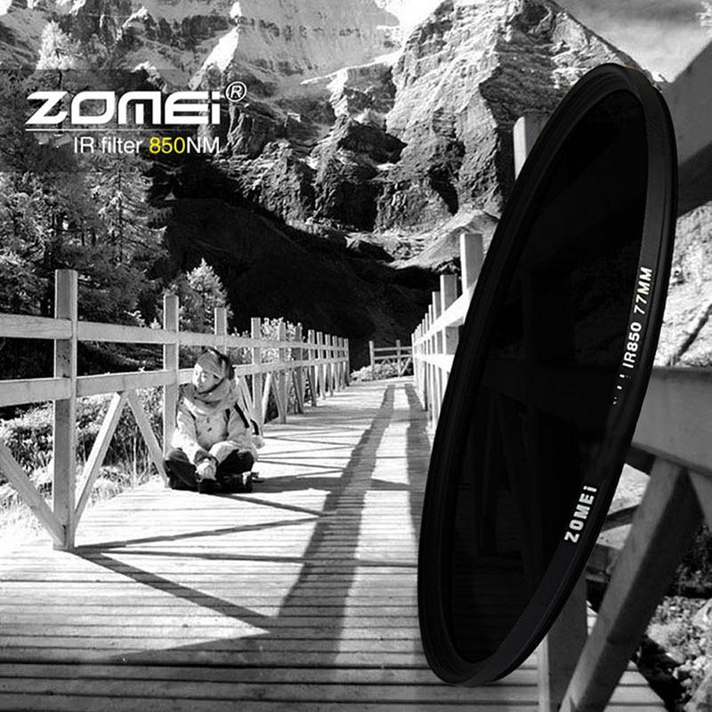 Zomei 49/52/55/58/62/67/72/77/82 IR-filter 680NM 720NM 760NM 850NM - Camera en foto - Foto 5