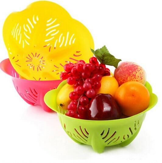 Us 15 11 Creative Bowl Shape Fruit Baskets Fruit Tray Vegetables Baskets Plastic Fruit And Vegetable Basket In Home Storage Organization From Home