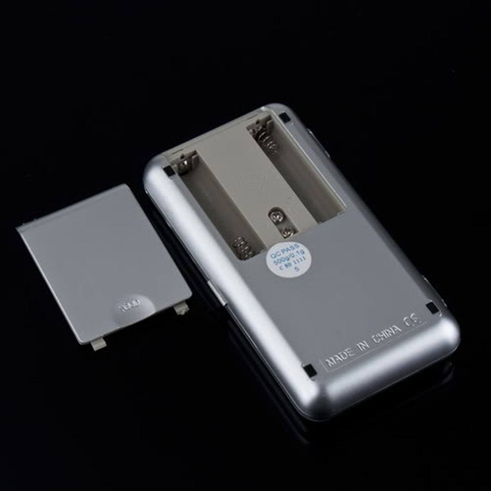 Электронные мини весы 500 г 0,1 г, цифровые карманные весы для ювелирных изделий