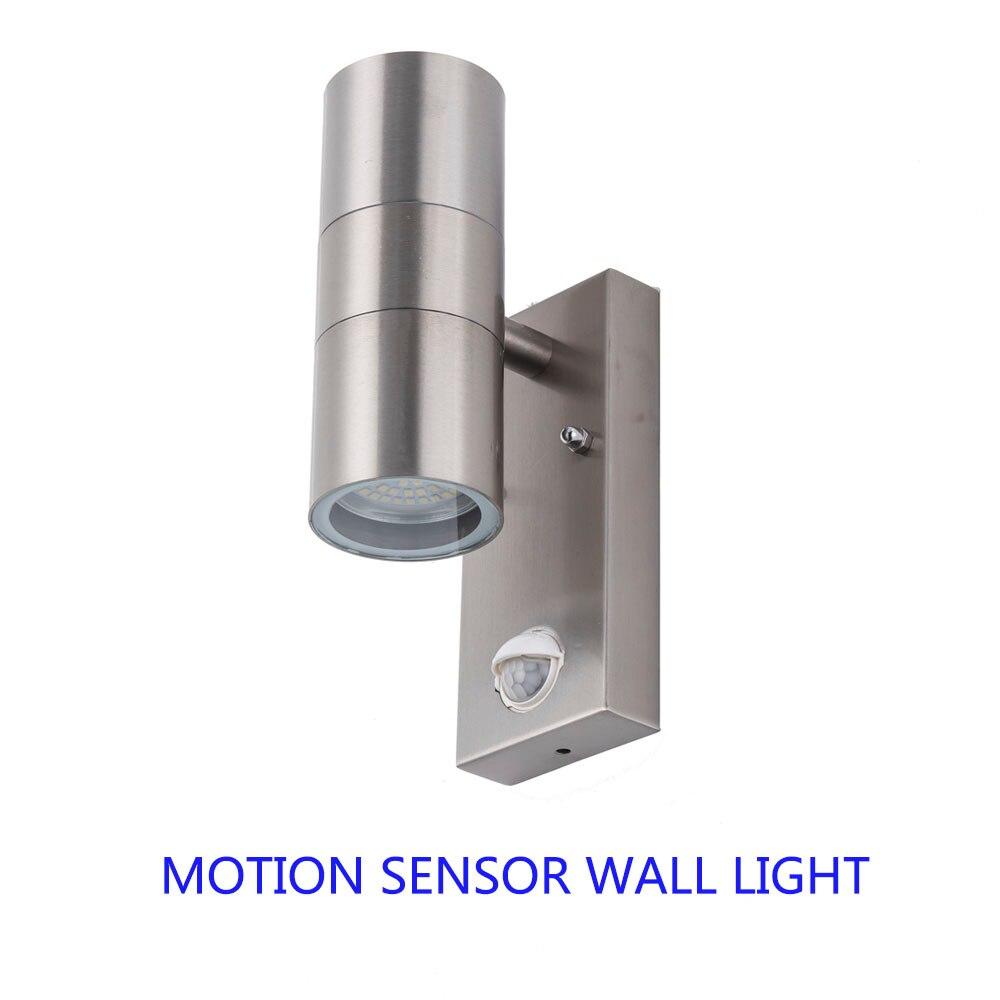 Индукционный светодиодный настенный светильник водонепроницаемый настенный лестничный светильник датчик движения вверх и вниз светодиод