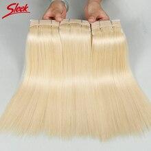 Sleek 18-25-Year-Old Girl With Healthy Hair 613# Soft&113g/Pcs Brazilian Virgin Hair Top Quality 3Pcs/Lot Brazilian Straight Hai