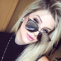 Vintage Cool Photochromic Sunglasses Women Colorful Mirror Sun Glasses For Women Metal Frame Shades Gafas Oculos