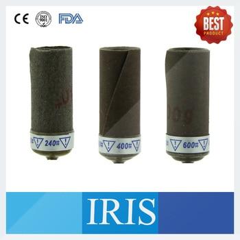 50 Pieces Per Lot 240#~1500# Abrasive Sandpaper With Mandrel Dental Abrasive Sandpaper With Mandrel : ROLL PAPER