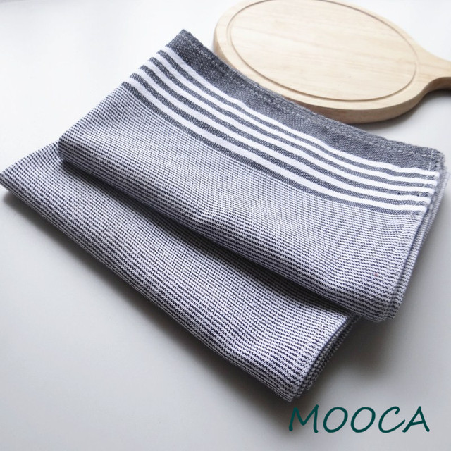 Big Size Cotton Kitchen Napkin Kitchen Towel Scouring Pad 2 Pcs 50x70cm  Good Cotton
