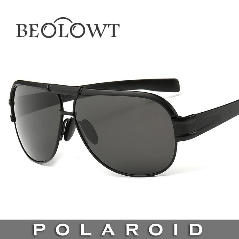 Beolowt marca de moda óculos de sol polaroid mulheres óculos de sol dos  homens polarizados para a condução de liga com caixa de caso 5 cores bl3104 66c9ec25e3