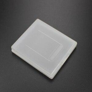 Image 5 - TingDong Beyaz Plastik Oyun Kartı Durumda Yüksek Kaliteli Oyun Kartuş Kılıfları Kutuları Nintendo Gameboy GBC