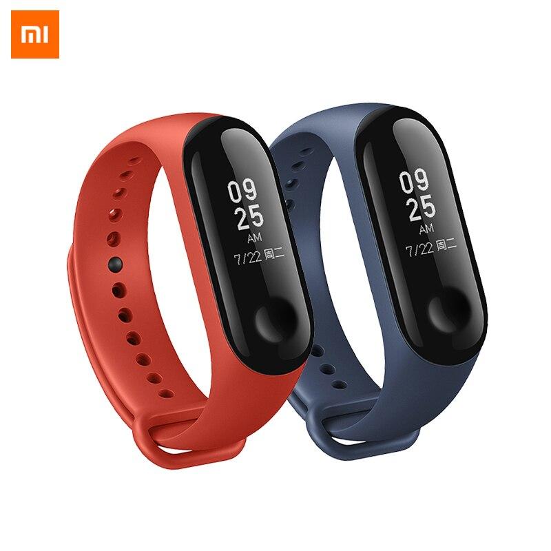 цена на Original Xiaomi Mi Band 3 Smart Wristband MIBand 3 Smartband MI Band 2+ Xiaomi Original Wrist strap