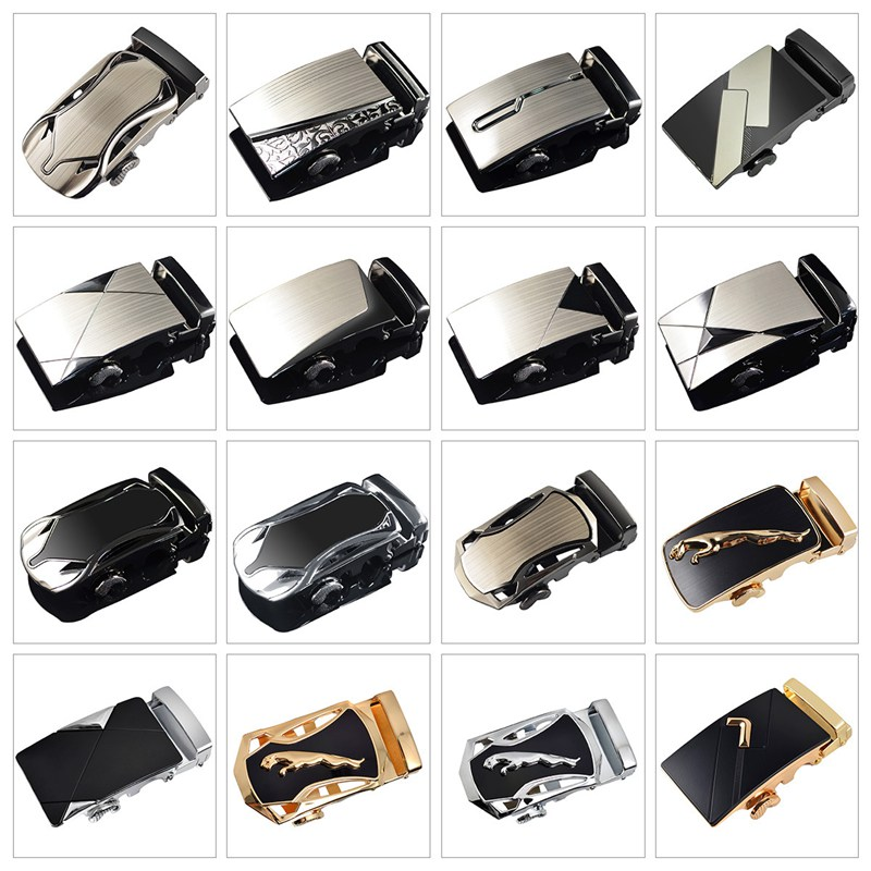 Fashion Buckle For Belt Alloy Automatic Unique Plaque For 3.5cm Apparel Accessories Belt Buckle For Men Tactical Materials