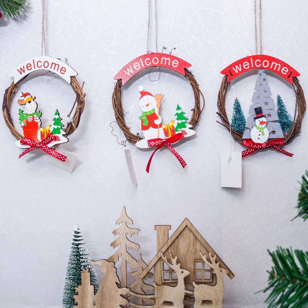 Christmas Wood Crafts.Christmas Wooden Pendants Diy Wood Crafts Star Heart Xmas Tree Hanging Ornaments Christmas Party For Kids Gift Home Decorations