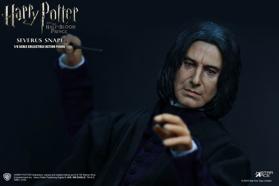 1/6 figure doll Harry Potter and the Half-Blood Prince Severus Snape 12 action figure doll Collectible figure Plastic Model Toy harry potter and the half blood prince