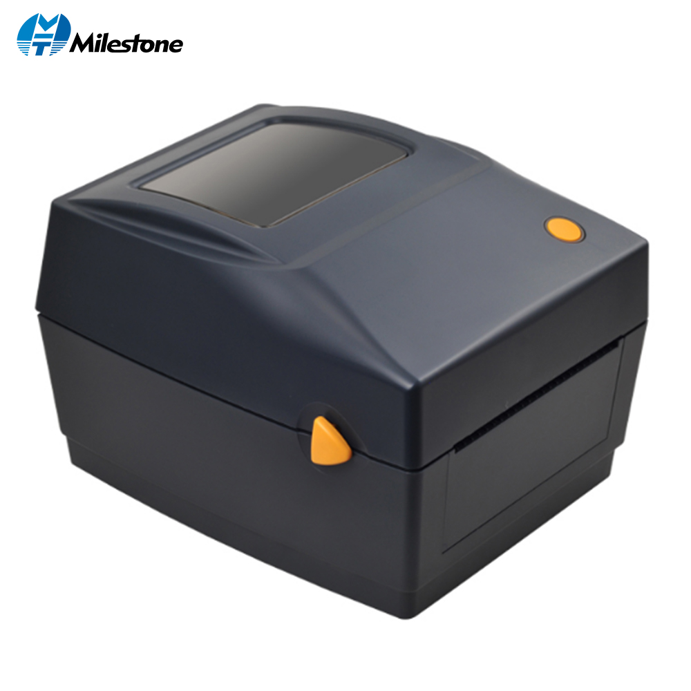 Milestone Barcode Sticker Printer Wholesale Brand New 108mm Width Thermal Qr Code Non-drying Label Bar Code POS printer image