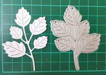 Leaf Shape Metal Stencil Embossing Cutting Dies 3D DIY Scrapbooking Craft Photo Invitation Cards Decoration 48x70mm(China)