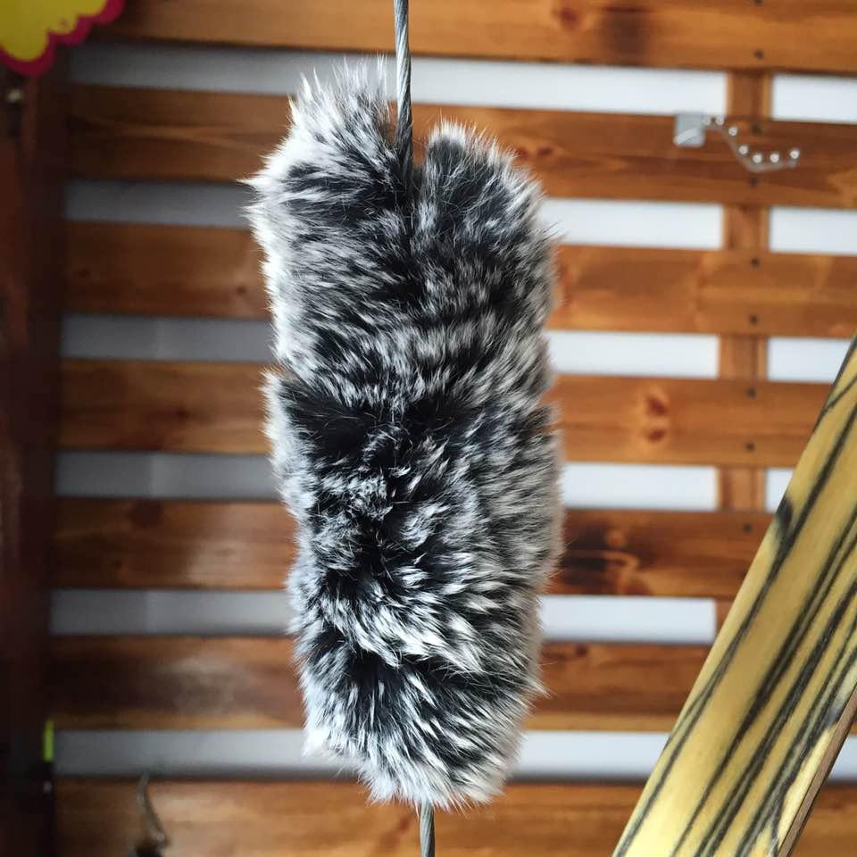 2 pçs arco e flecha bowstring estabilizador absorvente coelho amortecedor de cabelo choque absorver arco silenciador recurvo caça