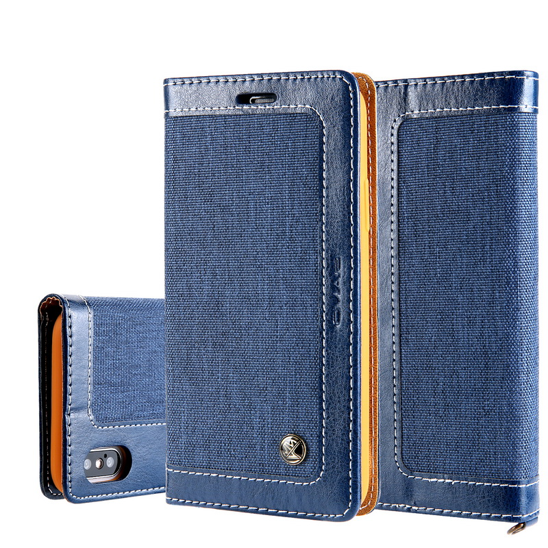 YISHANGOU Flip Wallet Phone Case For iPhone X 10 8 Plus Card Holder Stand PU Leather Cover For iPhone X 6 6S 7 Plus Purse Cases